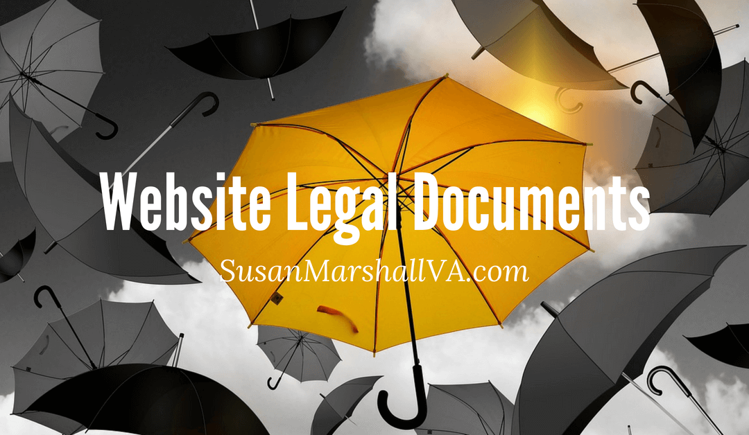 3 Website Legal Documents You Need Now