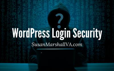 WordPress Login Security In 3 Easy Steps